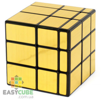 Купить QiYi Mirror Cube 3х3 (золотой) - зеркальный кубик Рубика в Украине (недорого)
