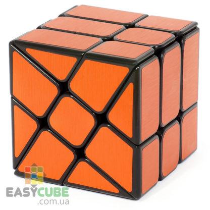 YongJun Ice Brushed 3x3 (красный) - кубик 3x3 изменяющий форму в Украине - easycube.com.ua