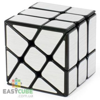 YongJun Ice Brushed 3x3 (серебряный) - кубик 3x3 изменяющий форму в Украине - easycube.com.ua