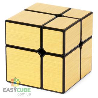 YongJun Mirror 2x2 (золотой) - купить зеркальный кубик в Украине - easycube.com.ua