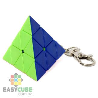 Брелок Jiehui Pyramid mini - купить мини пирамидку (механическая головоломка) - easycube.com.ua