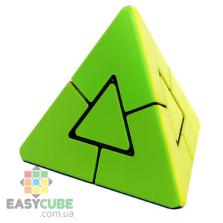 Jiehui Pyraminx Duo - купить нестандартная пирамида-головоломка - easycube.com.ua