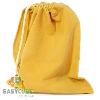 Купить мешочек-сумку для кубика Рубика от 2х2, 3х3 до 7х7 (желтый цвет) в Украине