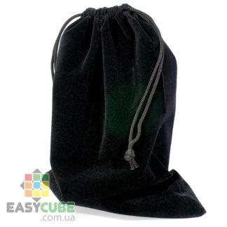Купить мешочек-сумку для кубика Рубика от 2х2, 3х3 до 7х7 (черный цвет) в Украине