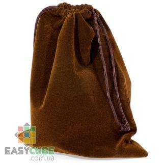 Купить мешочек-сумку для кубика Рубика от 2х2, 3х3 до 7х7 (коричневый цвет) в Украине