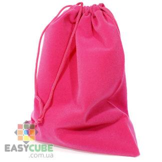 Купить мешочек-сумку для кубика Рубика от 2х2 до 7х7 (розовый цвет) в Украине