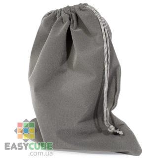 Купить мешочек-сумку для кубика Рубика от 2х2, 3х3 до 7х7 (серый цвет) в Украине