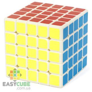 Qiyi QiZheng 5x5 - купить кубик Рубика 5х5 с белым пластиком в Украине - easycube.com.ua