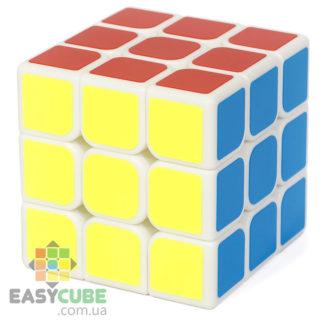 YongJun Guanlong 3 (2018) - купить кубик Рубика 3x3 с белым пластиком в Украине - easycube.com.ua
