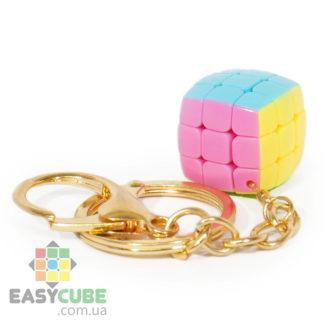 Брелок Yongjun mini 3х3 - купить миниатюрный кубик Рубика 3x3 - easycube.com.ua