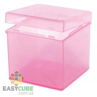 Купить коробку для хранения / бокс (розовый цвет) для кубика Рубика 2х2 или 3х3 в Украине