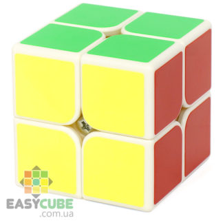 Moyu Jiaoshi MF2 C (MF2C) с белым пластиком - купить кубик Рубика 2х2 в Украине - easycube.com.ua