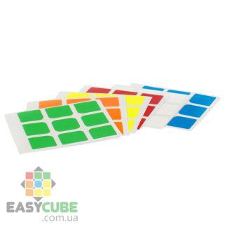 Купить наклейки для кубика Рубика 3х3 в Украине - недорого