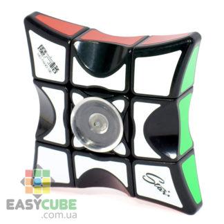 Купить Qiyi Mofangge Spinner 1x3x3 (черный пластик) - головоломка спиннер Рубика в Украине