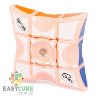 Купить Qiyi Mofangge Spinner 1x3x3 (розовый пластик) - головоломка спиннер Рубика в Украине
