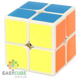 Qiyi QiDi 2x2 - купить недорогой кубик Рубика 2х2 с белым пластиком в Украине - easycube.com.ua