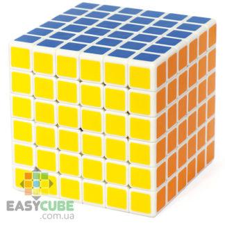 Shengshou Lefun 6x6 - купить качественный кубик Рубика 6х6 с белым пластиком в Украине - easycube.com.ua