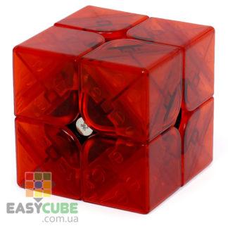 YongJun MGC 2x2 M Limited (красный) - купить магнитный кубик Рубика 2х2 с прозрачным пластиком в Украине - easycube.com.ua