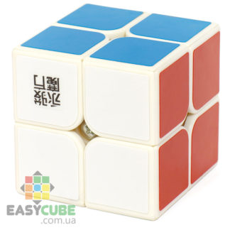 YongJun Mofang Yupo 2x2 (белый пластик) - купить кубик Рубика 2х2 в Украине - easycube.com.ua