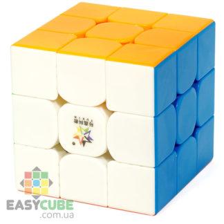 Yuxin Little Magic 3x3 (без наклеек) - купить цветной кубик Рубика 3х3 недорого в Украине - easycube.com.ua