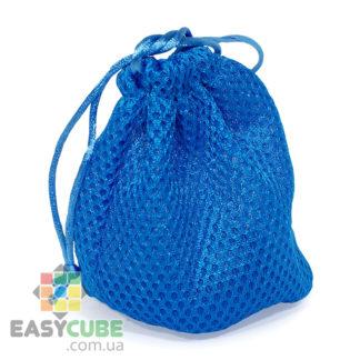 Купить мешочек-сумку (сеточка) для кубика Рубика от 2х2, 3х3 до 5х5 (синий цвет) в Украине