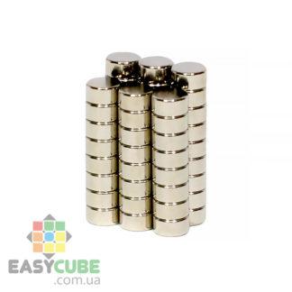 Купить магниты 3x2 мм N42 (50шт) для магнитных кубиков Рубика в Украине
