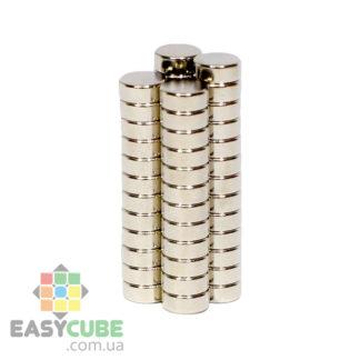 Купить магниты 2x5 мм N50 (50шт) для магнитных кубиков Рубика в Украине