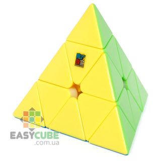 Купить Moyu Jiaoshi Pyraminx - пирамидка-головоломка Рубика без наклеек в Украине