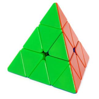 Купить YongJun Jinzita Pyraminx - пирамида Рубика без наклеек (цветной пластик) в Украине