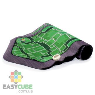 Купить коврик Yuxin (зеленый цвет) с креплением для таймера для сборки кубиков Рубика (спидкубинг) в Украине