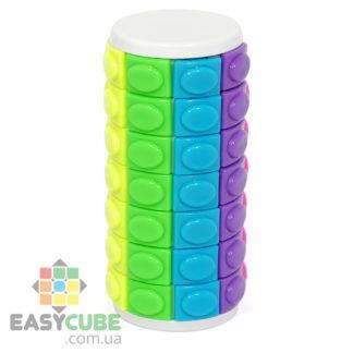 Купить Color Magic Tower Cube 7 (белый пластик) - головоломка в виде башни (7 этажей) в Украине