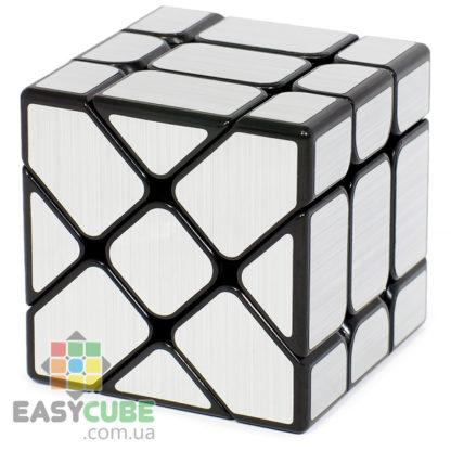 Купить YongJun Ice Brushed Fisher (серебристый) в Украине - кубик изменяющий форму