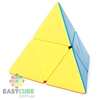 Купить YongJun Jinzita Pyraminx 2x2 - дешевая цветная пирамидка 2х2 (головоломка)