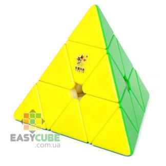 Купить Yuxin Huanglong Pyraminx M - недорогая магнитная пирамидка (головоломка)