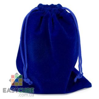 Купить синий мешочек YongJun для кубика Рубика от 2х2, 3х3 до 5х5 и 6х6 (синий цвет) в Украине