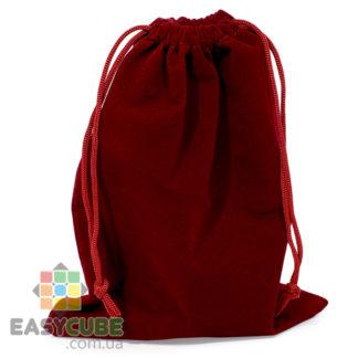 Купить мешочек YongJun для кубика Рубика от 2х2, 3х3 до 7х7 (бордовый цвет) в Украине