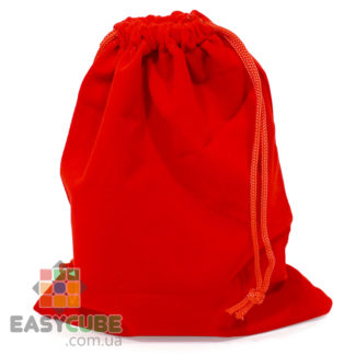 Купить мешочек YongJun для кубика Рубика от 2х2, 3х3 до 7х7 (красный цвет) в Украине