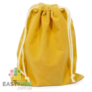 Купить мешочек YongJun для кубика Рубика от 2х2, 3х3 до 7х7 (желтый цвет) в Украине