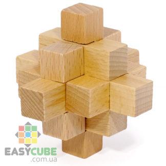 Купить Мини-кристалл (деревянная головоломка) в Украине по доступной цене