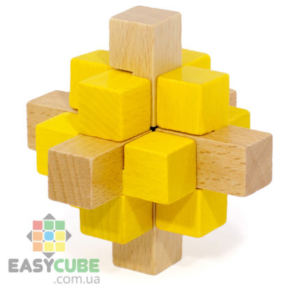Купить Золотой кристалл (деревянная головоломка) в Украине недорого