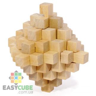 Купить Большой кристалл (деревянная головоломка) в Украине по доступной цене