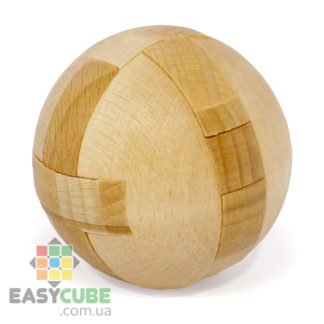 Купить Деревянный 3D шар (головоломка из дерева) в Украине недорого