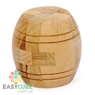 Купить Деревянный бочонок (интересная головоломка из дерева) в Украине недорого