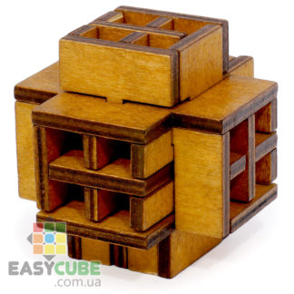 Купить Геометрическая пазл-головоломка (деревянная головоломка) в Украине недорого