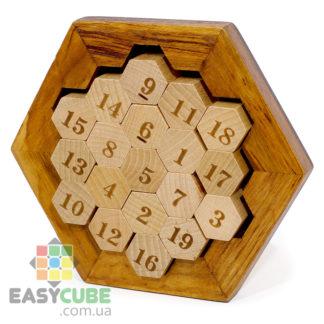 Купить классическая математическую головоломку (деревянная) в Украине недорого