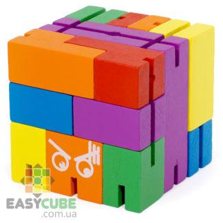 Купить Куб-трансформер (деревянная головоломка) в Украине - низкие цены