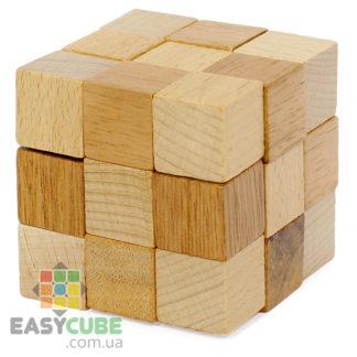 Купить Змейка-кубик (деревянная головоломка) в Украине недорого - магазин EasyCube.com.ua
