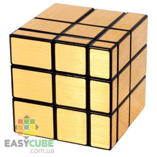 Купить JS Youpin Mirror Cube 3х3 (золотой) - зеркальный кубик Рубика в Украине (недорого)