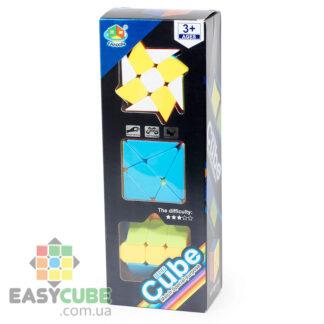 Купить набор головоломок FanXin изменяющих форму (3 вида) в Украине