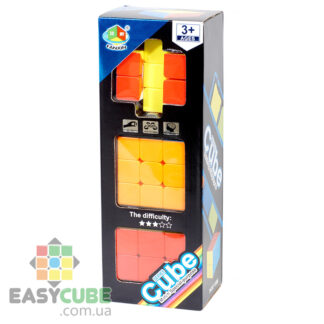 Купить набор кубиков Рубика FanXin (3x3, 2x2x3, 2x3x3) в Украине